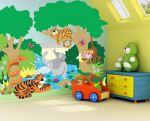 pictura perete camera copii