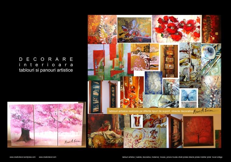 tablouri Mihaela A. Pavelescu
