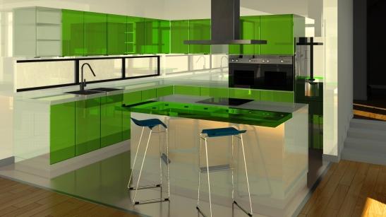 bucatarie-verde-_-proiect